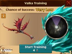 Battle Grapple Grounder Valka First Chance