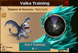 Shadechaser Valka First Chance