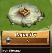 Iron Storage Lv 0
