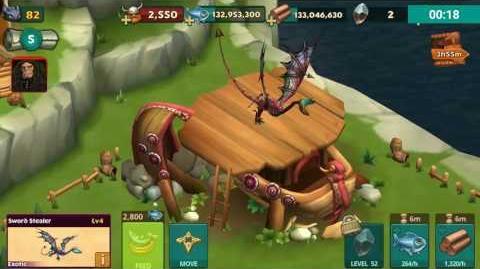 Rise of Berk - Exotic Sword Stealer