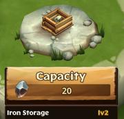 Iron Storage Lv 2