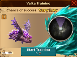 Spikeback Valka First Chance