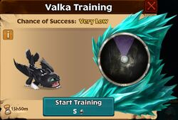 Night Light - 1 Valka First Chance