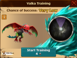 Small Shadow Valka First Chance