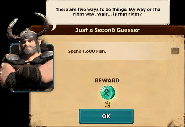 Just a Second Guesser