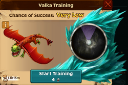 Sunchaser Valka First Chance
