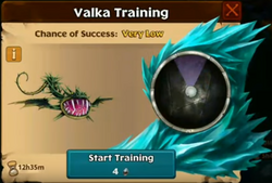 Rushing Death Valka First Chance