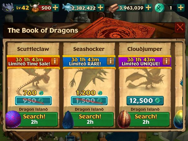 Dragon Island (Cloudjumper) 2nd