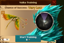 Leafy Snaptrapper Valka First Chance