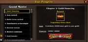 Progress page