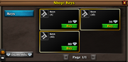 General shop keys