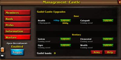 Castle hp. pluz future features