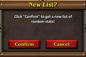 Combat mastery new list