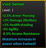 Void demon description