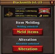 Blacksmith panel