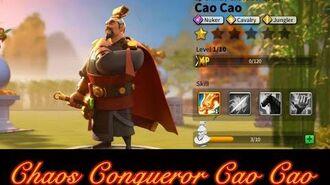 Rise of Civilizations Chaos Conqueror Cao Cao