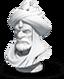 Commander sculpture Osman I