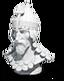 Commander sculpture Mehmed II