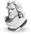 Commander sculpture Lancelot