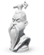 Commander sculpture Sun Tzu