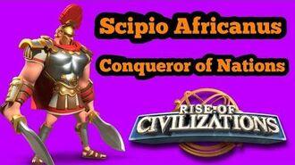 Rise of Civilizations - Beginner's Guide Commander Guide Scipio Africanus