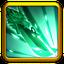 Commander skill Green Dragon Crescent Blade