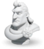 Commander sculpture Alexander the Great