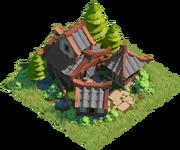 Building Builder's Hut 6 4