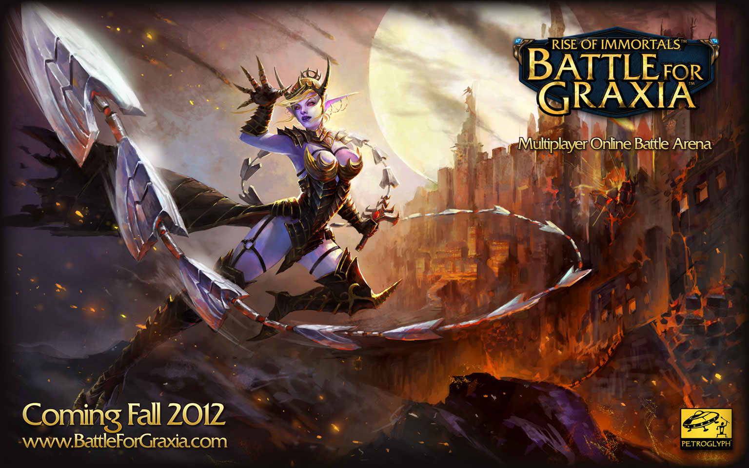 game battle for graxia