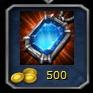 Sapphire Amulet