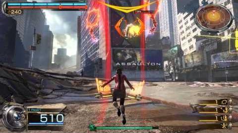 Kali ↑ + Melee Attack