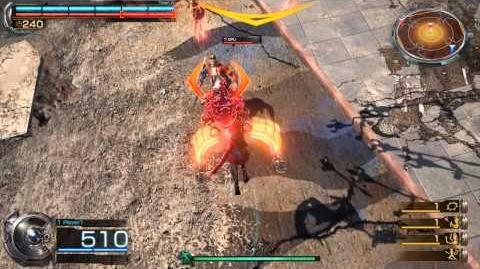 Kali ↓ + Melee Attack