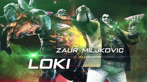 Loki Official Character Introduction in Rise of Incarnates (ESRB)