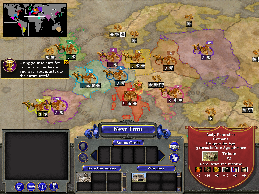 Conquer the world rise of nations wiki fandom powered by wikia conquer the world empire mode gumiabroncs Image collections