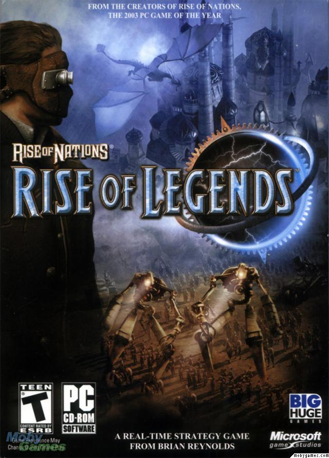 Rise Of Legends Rise Of Nations Wiki Fandom Powered By Wikia