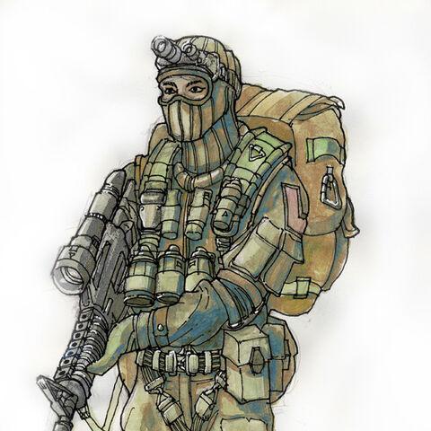 Elite Special Forces concept art