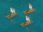 Fire Raft