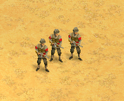 Marine Infantry Screen