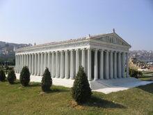 Temple of Artemis Miniaturk Reconstruction