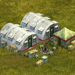 A modern Barracks.