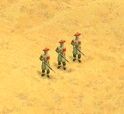 Manchu Riflemen Screen