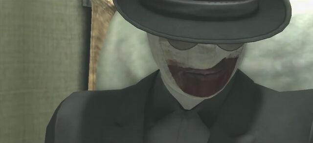 File:Bandage man smiles.jpg