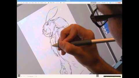 Rise of the Guardians - Drawing Tutorial - Bunnymund