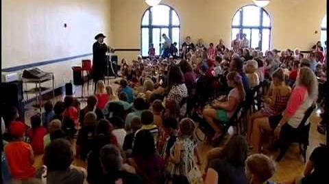 3rd annual Children's Art & Literacy Festival CALF in Abilene, TX featuring William Joyce