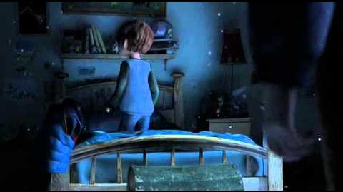 Rise of the Guardians - Jamie sees Jack Frost