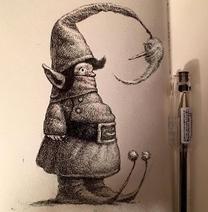 An elf- Guardians