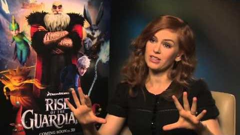 Isla Fisher Interview Rise of the Guardians