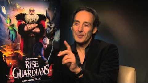 Alexandre Desplat Interview Rise of the Guardians