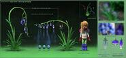 Bunny plant spray flower modeling Jung