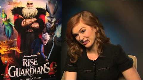 INTERVIEW Isla Fisher on the filming experience at Rise ...